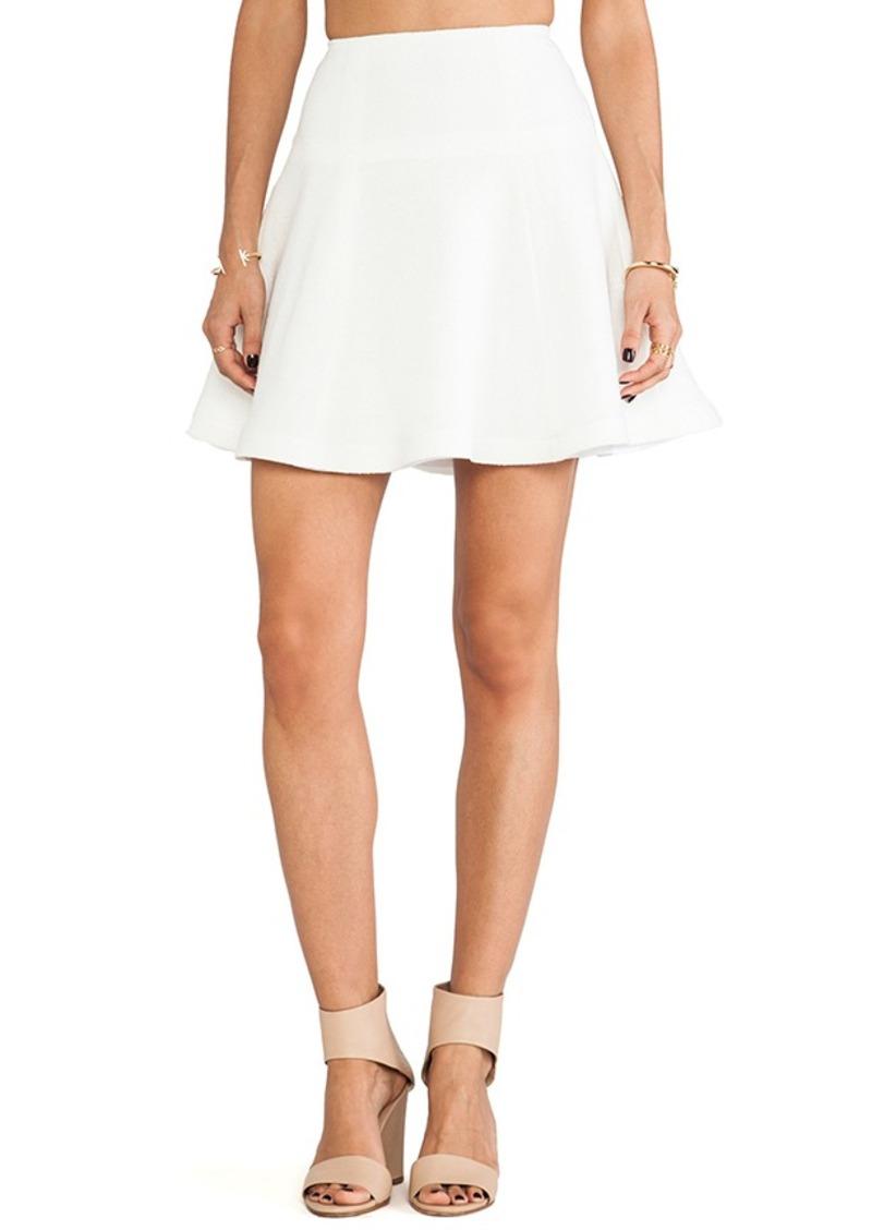 Nanette Lepore Smitten Skirt in Ivory