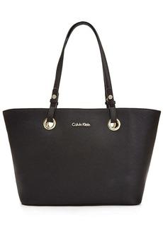 Calvin Klein Leather Tote