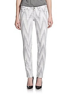 AG Adriano Goldschmied Zigzag Jean-Style Pants