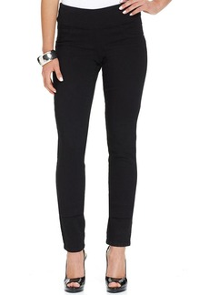 Style&co. Curvy-Fit Pull-On Jeggings, Black Wash