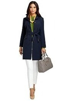 Wool Double-Face Belted Coat