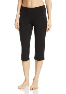 Danskin Women's Lounge Crop Pant