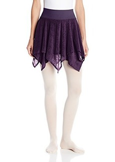 Danskin Women's NYCB Wide Waistband Handkerchief Skirt