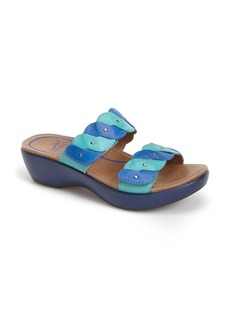 Dansko 'Dee' Leather Two Strap Sandal (Women)