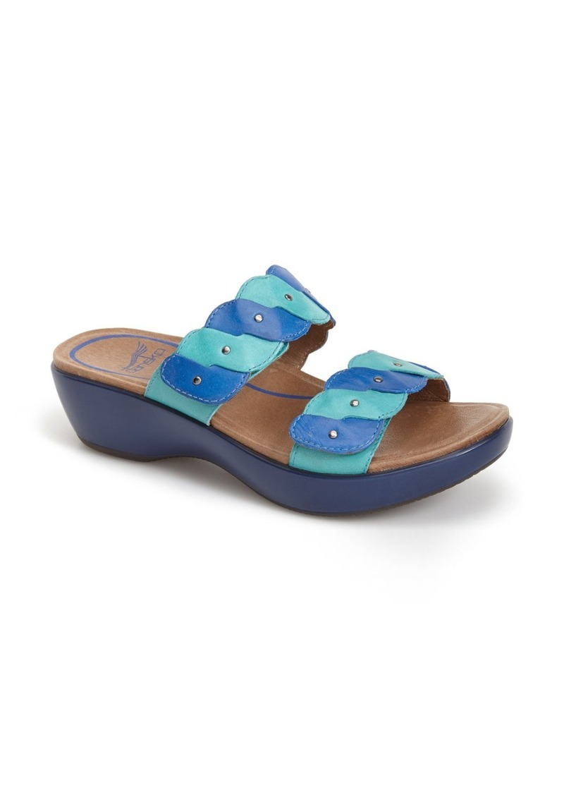 Simple  HiRise Two Strap Leather Sandals For Women  Ishoeseason