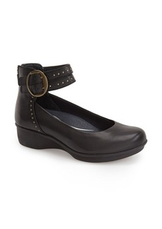 Dansko 'Lois' Ankle Strap Wedge (Women)