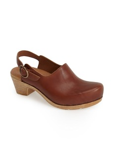 Dansko 'Madison' Leather Clog (Women)
