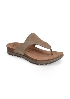 Dansko 'Priya' Leather Thong Sandal (Women)