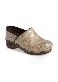 Dansko 'Pro XP' Metallic Medallion Print Clog (Women)