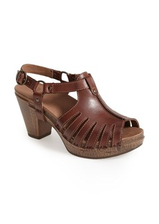 Dansko 'Randa' Leather Sandal (Women)