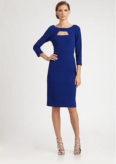 David Meister Crepe Day Dress