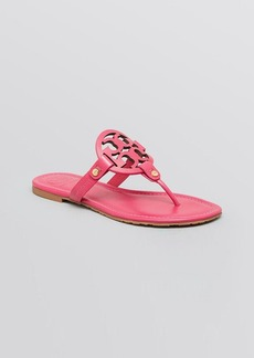 Tory Burch Logo Thong Sandals - Miller
