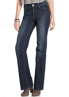 DKNY Jeans Petite Jeans, Soho Bootcut-Leg, Chelsea Wash