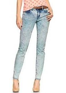 1969 marble wash always skinny skimmer jeans