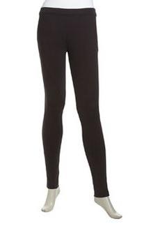 Nicole Miller Seam Detailed Skinny Ponte Pants, Black
