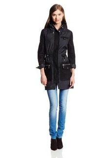Kenneth Cole New York Women's Walker Anorak Jacket with Hood