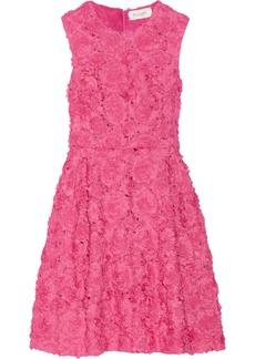 Jill Stuart Letizia floral-appliquéd organza dress