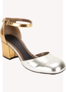 Marni Metallic Mary Jane Sandals