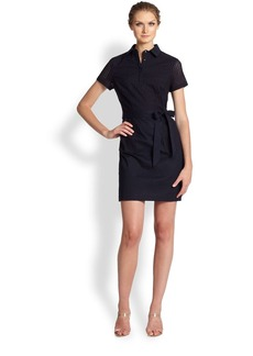 Shoshanna Eyelet Shirtdress