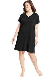 Jockey Plus Size Sleepshirt Short Sleeve