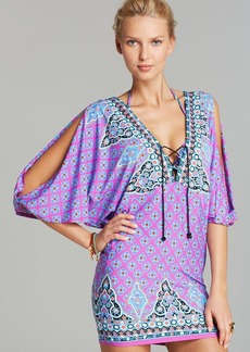 Nanette Lepore Moroccan Medallion Cover Up Tunic