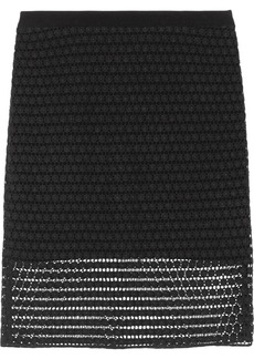 Tibi Astrid cotton-lace pencil skirt