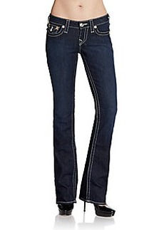 True Religion Dark Wash Bootcut Jeans