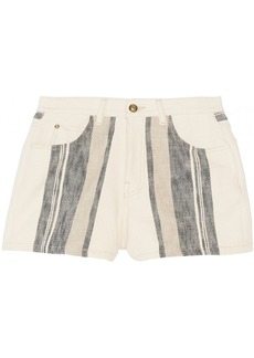 Chloé Woven cotton shorts
