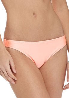 Shoshanna Shimmery Low-Rise Swim Bottom