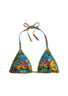 Bantu Wax® for J.Crew Stir It Up bikini top in frog print
