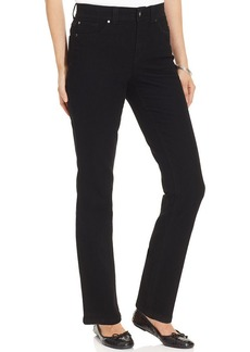 Charter Club Jeans, Curvy-Fit Straight-Leg, Blackout Wash