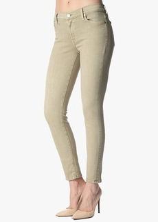 "The Slim Illusion Ankle Skinny in Khaki Sandwashed Twill (28"" Inseam)"