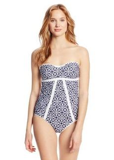 Laundry by Shelli Segal Women's Seville One Piece Swimsuit