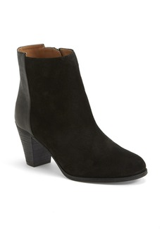 Delman 'Alysa' Leather & Suede Bootie (Women)