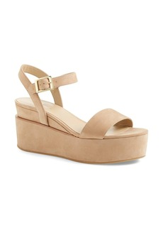 Delman 'Angie' Platform Wedge Sandal (Women)
