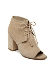 Delman Anita Peep Toe Ankle Booties