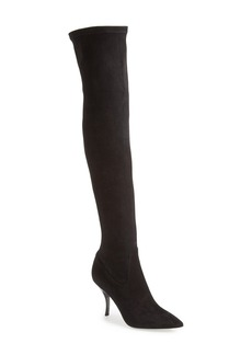 Delman 'Bet' Over the Knee Suede Boot (Women)