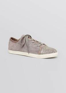 Delman Cap Toe Lace Up Sneakers - Magie