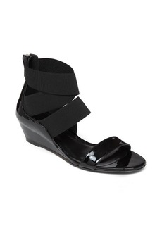 Delman Catch Low Wedge Sandal