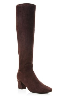 Delman Cyera High Shaft Low Heel Boots
