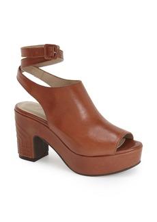 Delman 'Daisy' Platform Peep Toe Sandal (Women)