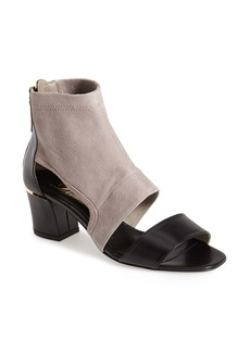 Delman 'Kara' Leather & Suede Bootie (Women)
