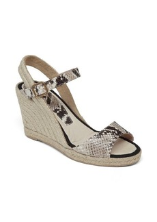 Delman Keep it Natural in this Versatile Espadrille Wedge