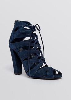 Delman Lace Up Sandals - Darci High Heel