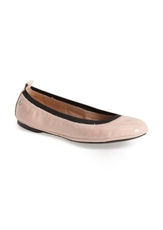 Delman 'Maxie' Patent Leather Skimmer Flat (Women)