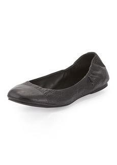 Delman Maya Cap-Toe Ballerina Flat