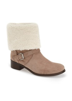 Delman 'Minka' Genuine Shearling Cuff Boot (Women)