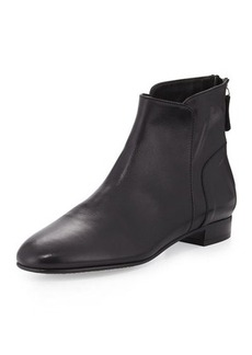 Delman Myth Leather Ankle Boot