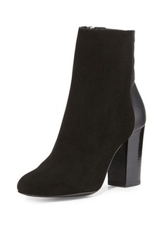 Delman Nyla Suede Ankle Boot