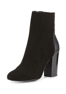 DELMAN Nyla Suede Ankle Boot, Black
